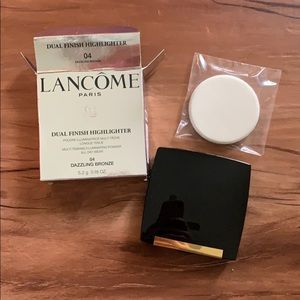 LANCÔME DUAL FINISH HIGHLIGHTER BRONZE